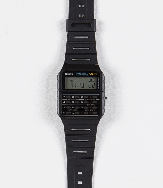 [CASIO 정품]Data Bank Calculator WatchFree / one color